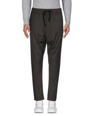 Повседневные брюки FALORMA. Цвет: зеленый-милитари