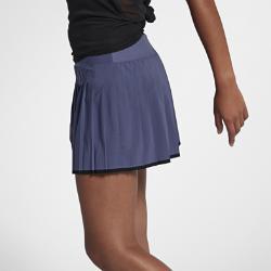 Теннисная юбка Court Victory Nike. Цвет: синий