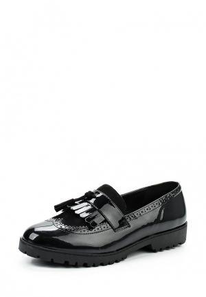 Лоферы Y & L. Цвет: черный