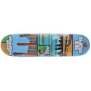 Дека для скейтборда  Sarmiento Gamer 31.75 x 7.8 (19.8 см) Sk8mafia. Цвет: мультиколор