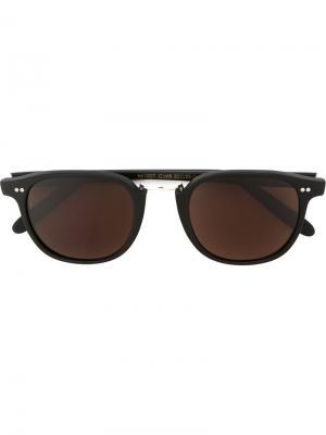 Солнцезащитные очки M1007 Cutler & Gross. Цвет: чёрный