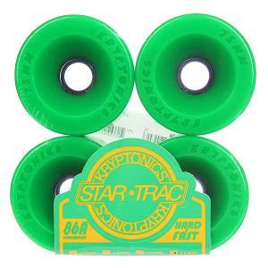 Колеса для скейтборда лонгборда  Star Trac Premium Green 86A 75 mm Kryptonics. Цвет: зеленый