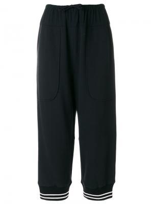Свободные укороченные брюки  IM Isola Marras I'M. Цвет: чёрный