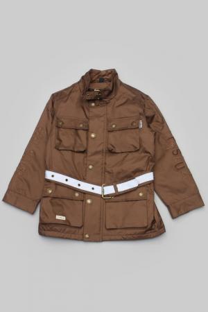 Куртка Trasluz. Цвет: коричневый