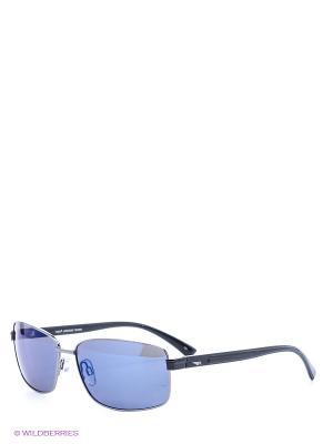 Солнцезащитные очки Legna. Цвет: черный, синий