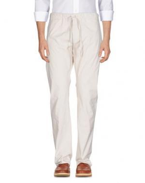Повседневные брюки GOLD CASE by ROCCO FRAIOLI. Цвет: бежевый