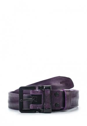 Ремень Alexander Tsiselsky. Цвет: фиолетовый