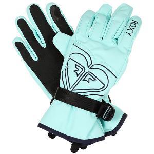 Перчатки женский  Poppy Gloves Aruba Blue Roxy. Цвет: голубой