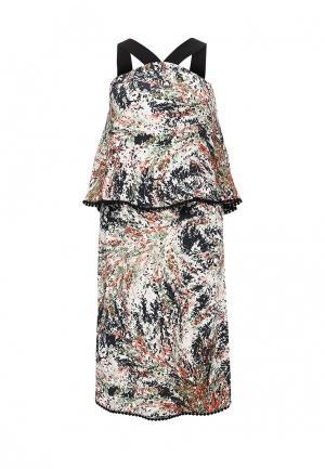 Платье Sinequanone. Цвет: разноцветный