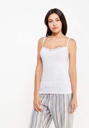 Рубашка домашняя Vis-a-Vis. Цвет: белый
