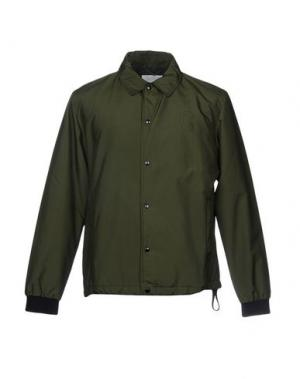 Куртка COVERT. Цвет: зеленый-милитари