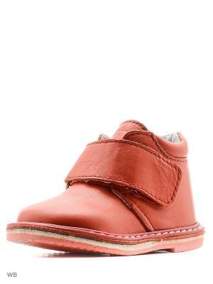 Ботинки ФОМА. Цвет: красный