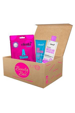 Набор Happy Skin Beauty Box Vilenta. Цвет: none