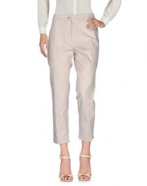 Повседневные брюки ARGONNE. Цвет: светло-коричневый