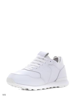 Кроссовки Sigma. Цвет: белый