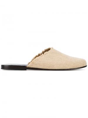 Сандалии Pasoumi Ancient Greek Sandals. Цвет: телесный
