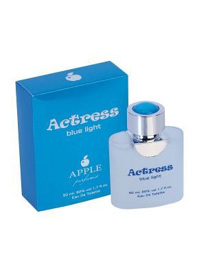 Туалетная вода Actress Blue Light (Актриса Блю Лайт) жен. 50мл APPLE PARFUMS. Цвет: прозрачный