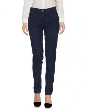 Повседневные брюки YUKO. Цвет: темно-синий