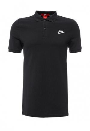 Поло Nike. Цвет: черный