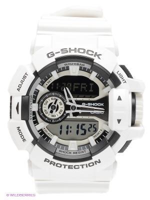 Часы G-SHOCK GA-400-7A CASIO. Цвет: белый