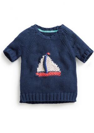 Пуловер Next. Цвет: темно-синий