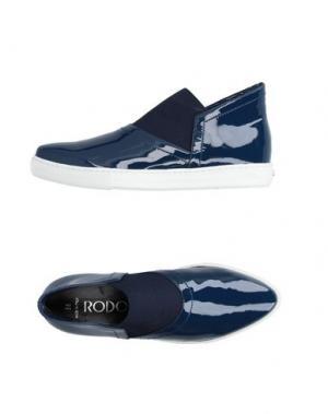 Низкие кеды и кроссовки RODO. Цвет: синий