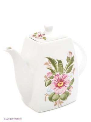 Чайник заварочный LORAINE. Цвет: белый