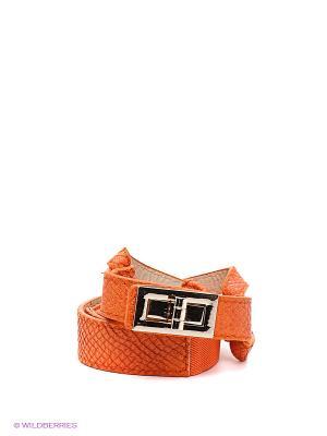 Пояс MONDIGO. Цвет: оранжевый