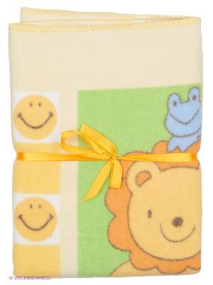 Одеяло Baby Nice. Цвет: желтый