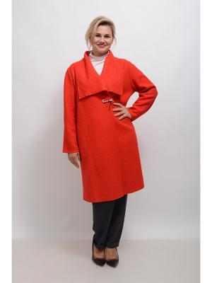 Пальто Дарсия LINO RUSSO. Цвет: красный