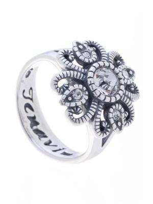 Кольцо Jenavi. Цвет: белый, серебристый
