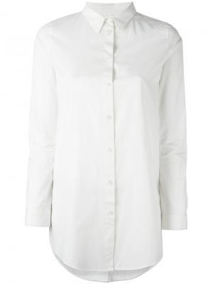 Классическая рубашка Thom Krom. Цвет: белый