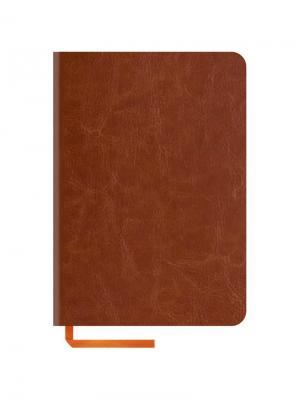 Записная книжка Nebraska soft Office space. Цвет: коричневый