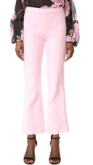Укороченные брюки Giambattista Valli. Цвет: розовый