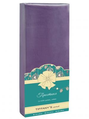 Простыня Tiffany's secret. Цвет: фиолетовый