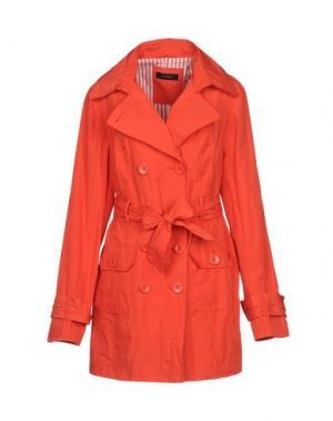Легкое пальто LALTRAMODA. Цвет: оранжевый