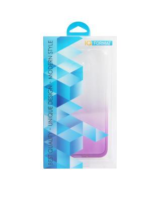 Крышка задняя для iphone 7 силикон IQ Format. Цвет: фиолетовый