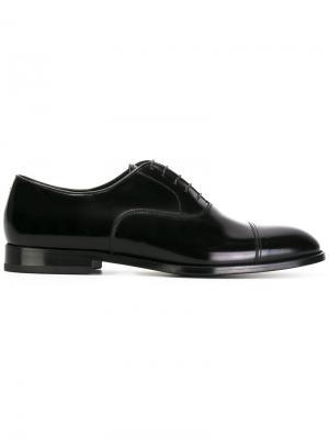 Ботинки-оксфорды Doucals Doucal's. Цвет: чёрный