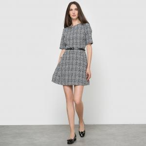 Платье MOLLY BRACKEN. Цвет: черный