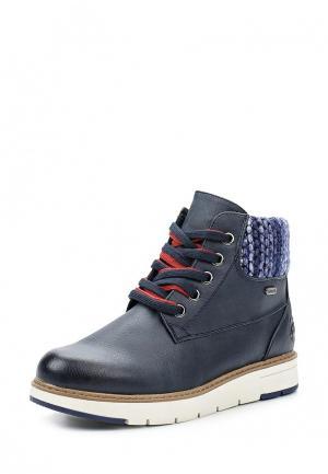 Ботинки Marco Tozzi. Цвет: синий