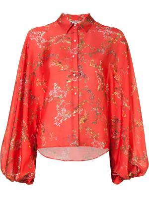 Блузка Nicolette Alexis. Цвет: красный