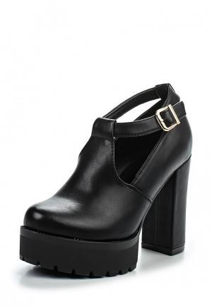 Туфли Lovery. Цвет: черный
