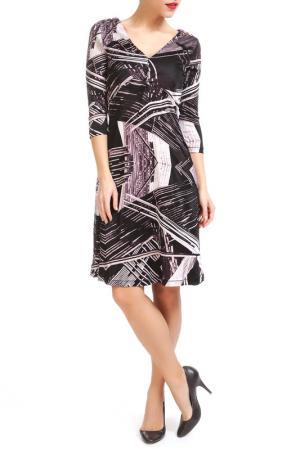 Платье Custo Barcelona. Цвет: мультицвет