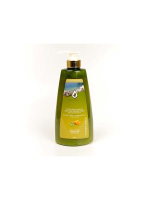 Успокаивающий крем для душа с медом и оливковым маслом EXTRA MINERAL. Цвет: белый