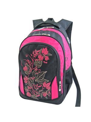 Портфель ученический Stelz. Цвет: розовый