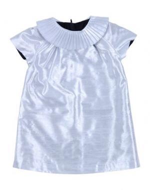 Платье HUCKLEBONES. Цвет: серебристый