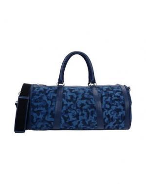 Дорожная сумка VIA REPUBBLICA. Цвет: темно-синий