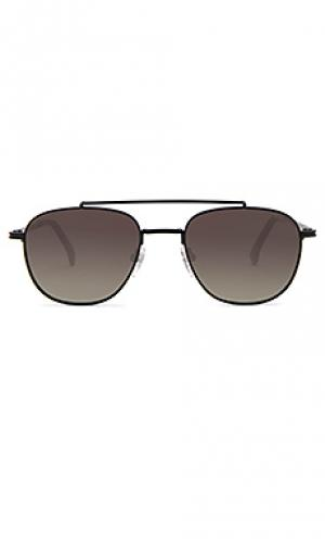 Солнцезащитные очки alex Komono. Цвет: черный