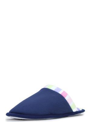 Тапочки женские T.TACCARDI. Цвет: темно-синий