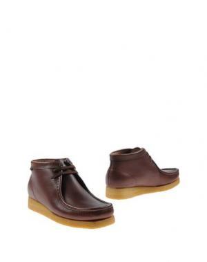 Полусапоги и высокие ботинки SEBAGO. Цвет: какао